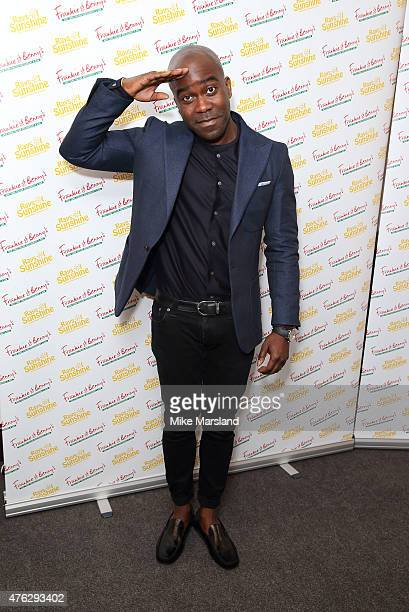 Melvin Odoom attends Frankie And Benny's Rays Of Sunshine Concert at Royal Albert Hall on June 7 2015 in London England
