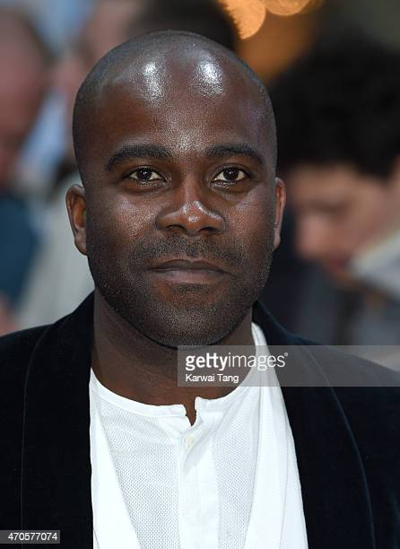 Melvin Odoom attends the European premiere of 'The Avengers Age Of Ultron' at Westfield London on April 21 2015 in London England