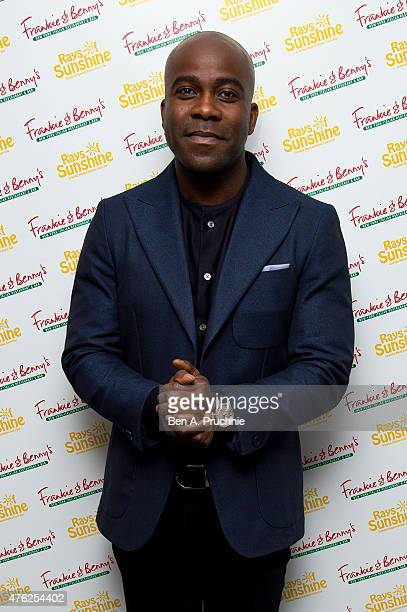 Melvin Odoom attends the Frankie and Benny's Rays of Sunshine Concert at the Royal Albert Hall on June 7 2015 in London England