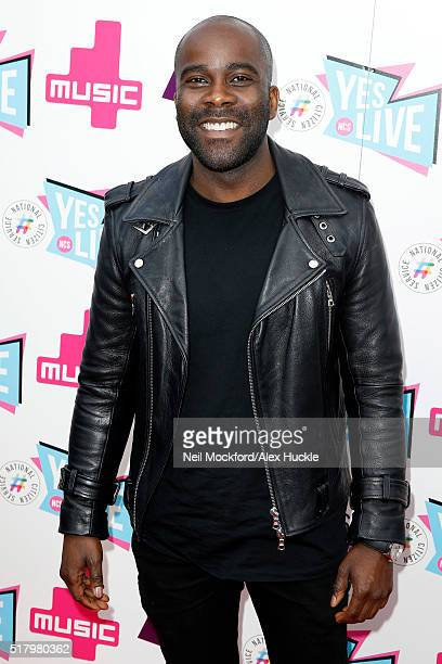 Melvin Odoom attends the National Citizen Service Live event at the Roundhouse Chalk Farm on March 29 2016 in London England