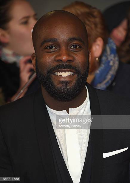 Melvin Odoom attends the National Television Awards on January 25 2017 in London United Kingdom