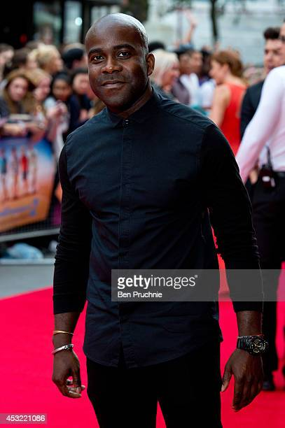 Melvin Odoom attends the world premiere of 'The Inbetweeners 2' at Vue West End on August 5 2014 in London England