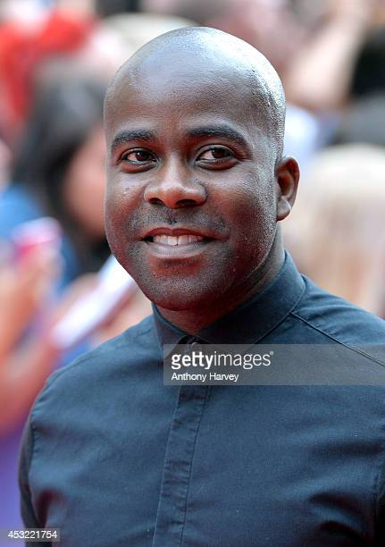 Melvin O'Doom attends the World Premiere of 'The Inbetweeners 2' at Vue West End on August 5 2014 in London England