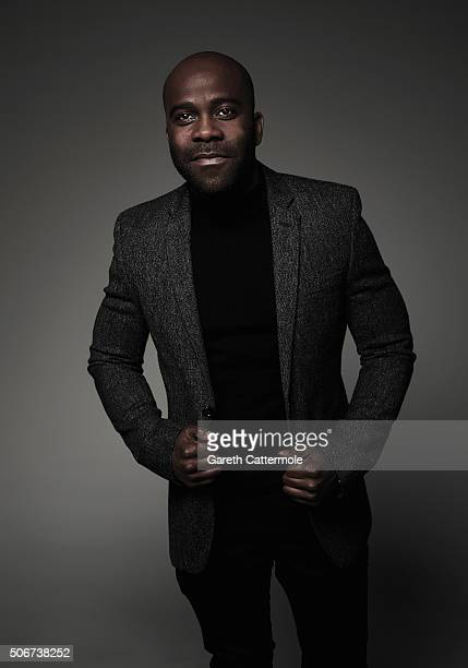 Melvin Odoom poses in the Portrait Studio during the 21st National Television Awards at The O2 Arena on January 20 2016 in London England