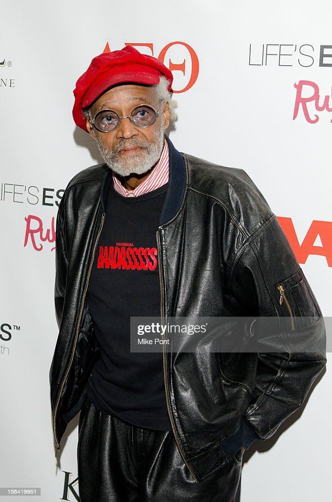 Melvin Van Peeples attends the 'Life's Essentials With Ruby Dee' screening at The Schomburg Center for Research in Black Culture on November 14, 2012 in New York City.