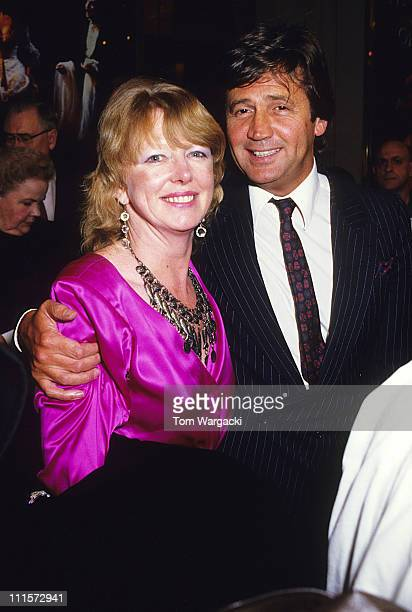Melvyn Bragg and wife during Melvyn Bragg and wife at her Majesty's Theatre for 'The Phantom Of The Opera' at Her Majesty's Theatre in London Great...
