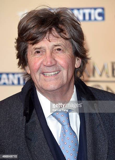 Melvyn Bragg arrives for the world premiere of Game of Thrones Season 5 at Tower of London on March 18 2015 in London England