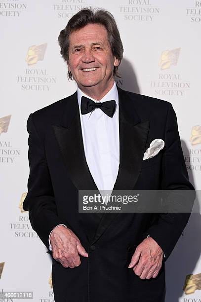 Melvyn Bragg attends the RTS Programme Awards at The Grosvenor House Hotel on March 17 2015 in London England