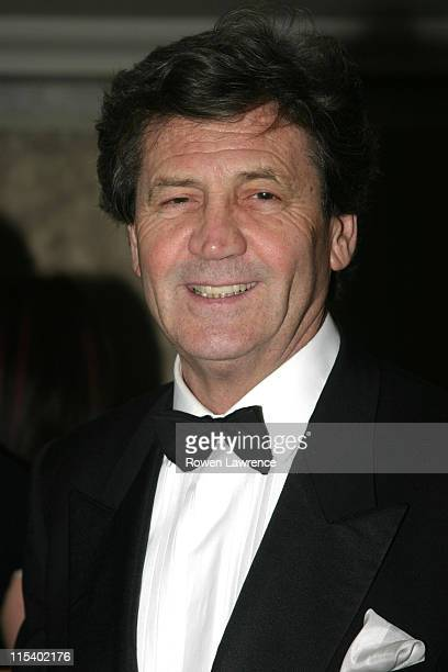 Melvyn Bragg during 2004 Royal Television Society Awards Arrivals at Grosvenor House Hotel in London Great Britain