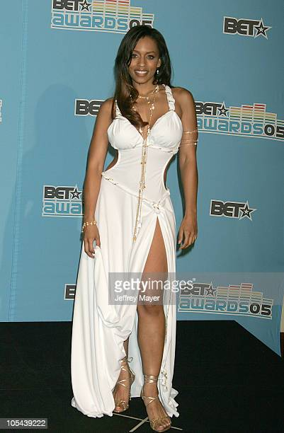 Melyssa Ford during 2005 BET Awards Press Room at Kodak Theatre in Hollywood California United States