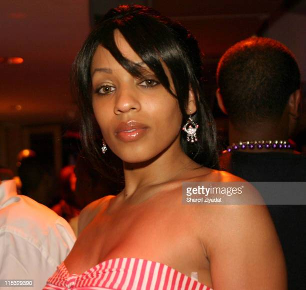 Melyssa Ford during Got Milk NBA Rookie Of The Year 2004 Presented to LeBron James at NBA Store in New York City New York United States