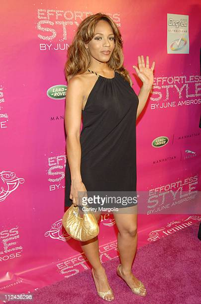 Melyssa Ford during June Ambrose Celebrates the Release of her New Book 'Effortless Style' held at Tenjune at Tenjune in New York City New York...
