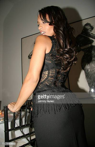 Melyssa Ford during Kanye West 'Heard Em Say' Video Launch and Art Gallery at GR N'Namdi Gallery in New York New York United States