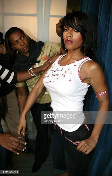 Melyssa Ford during Melyssa Ford Photo Shoot for Apple Bottom Jeans at Metropolitan Building in New York City New York United States