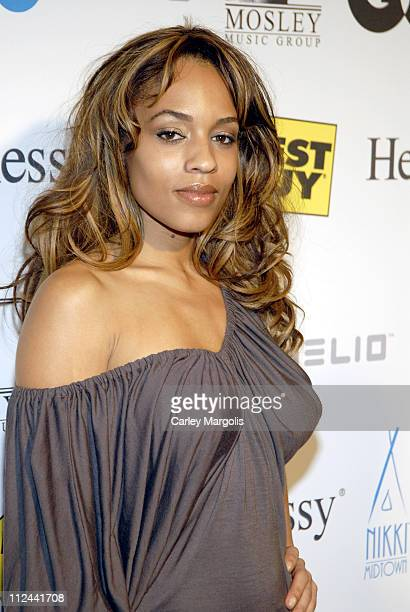 Melyssa Ford during Timbaland MTV VMA's Preparty at Nikki Beach in New York City New York United States