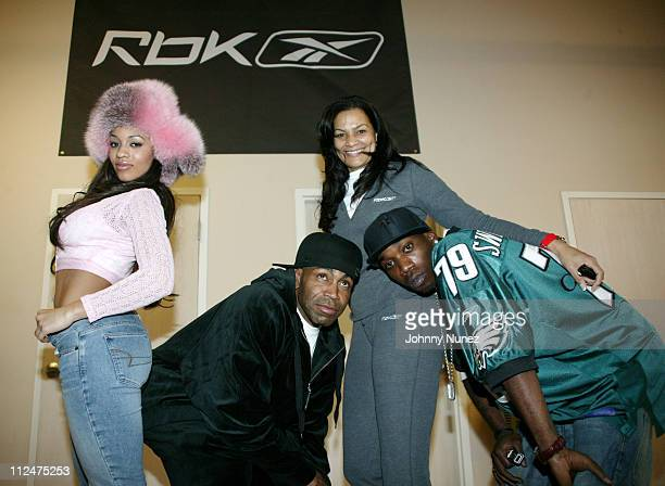 Melyssa Ford of BET Hook Mitchell Penny Mack and Stevie Williams