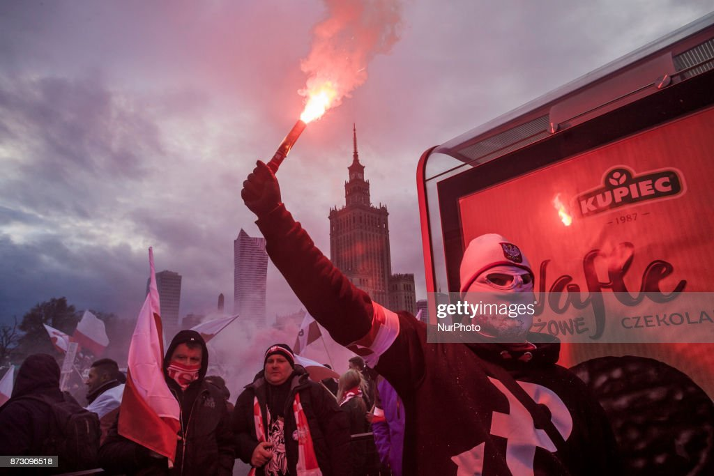 Far-Right Nationalists March on Polish Independence Day