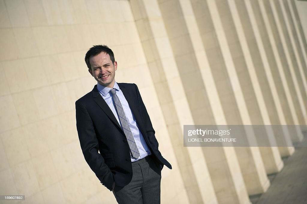FRENCH - Member of France's right-wing party UMP and Paris' city councillor Pierre-Yves Bournazel poses at the Trocadero in Paris on January 14, 2013. Bournazel officially announced on January 17, 2013 he is running for mayor in Paris in next year's municipal elections.
