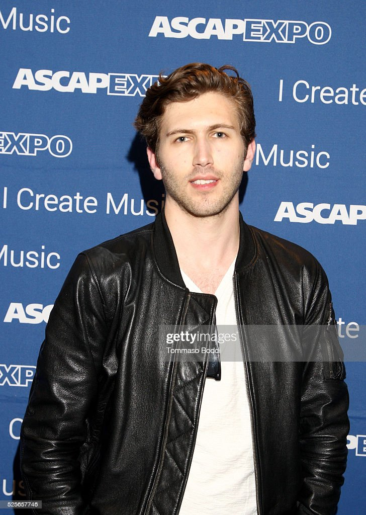 Member of musical group The Score, Edan Dover attends the 2016 ASCAP 'I Create Music' EXPO on April 28, 2016 in Los Angeles, California.