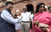 Member of Rajya Sabha from Tamil Nadu D Raja Minister of State with Independent Charge for Power Coal New and Renewable Energy and Mines Piyush Goyal...