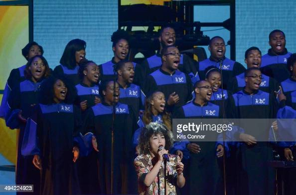 Member of Scott Bradlee Postmodern Jukebox performs during YouTube On Stage Live from the Kennedy Center at The John F Kennedy Center for Performing...