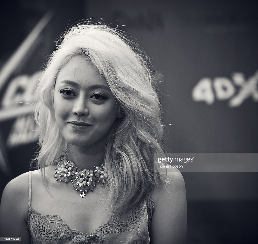 A member of Spica attends KCON 2014 at the Los Angeles Memorial Sports Arena on August 10, 2014 in Los Angeles, California.