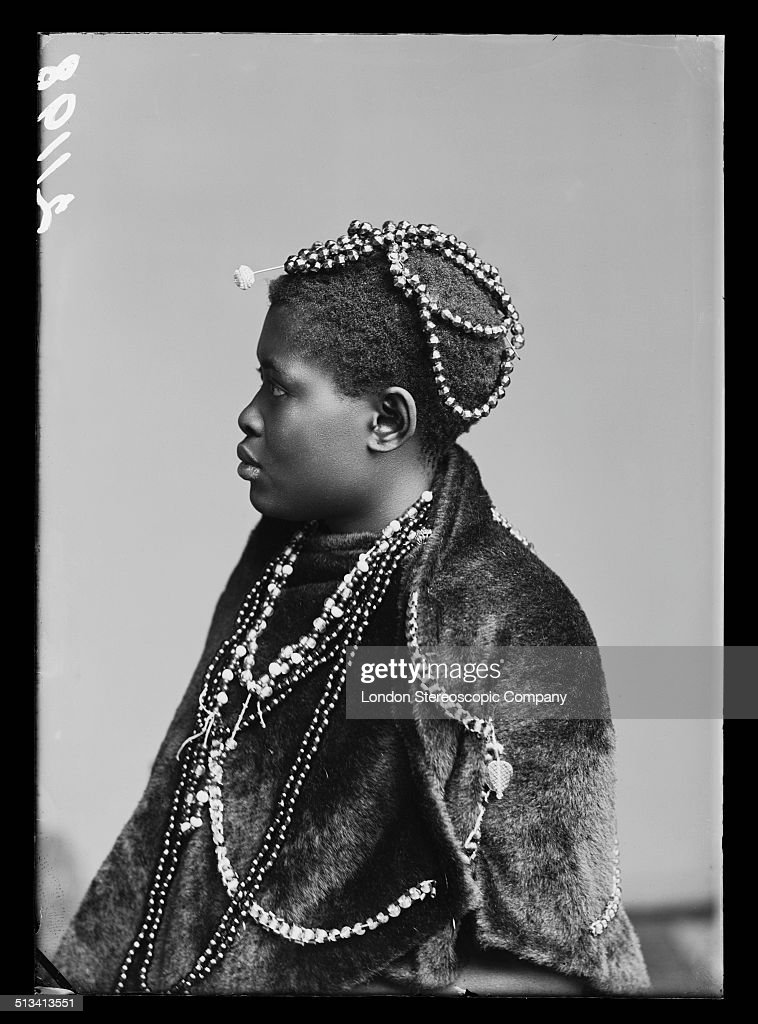 A member of The African Choir, 1891. The choir, drawn from seven different South African tribes, toured Britain from 1891 to 1893 to raise funds for a technical college in their home country.