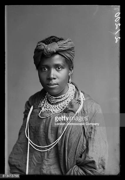 A member of The African Choir 1891 The choir drawn from seven different South African tribes toured Britain from 1891 to 1893 to raise funds for a...
