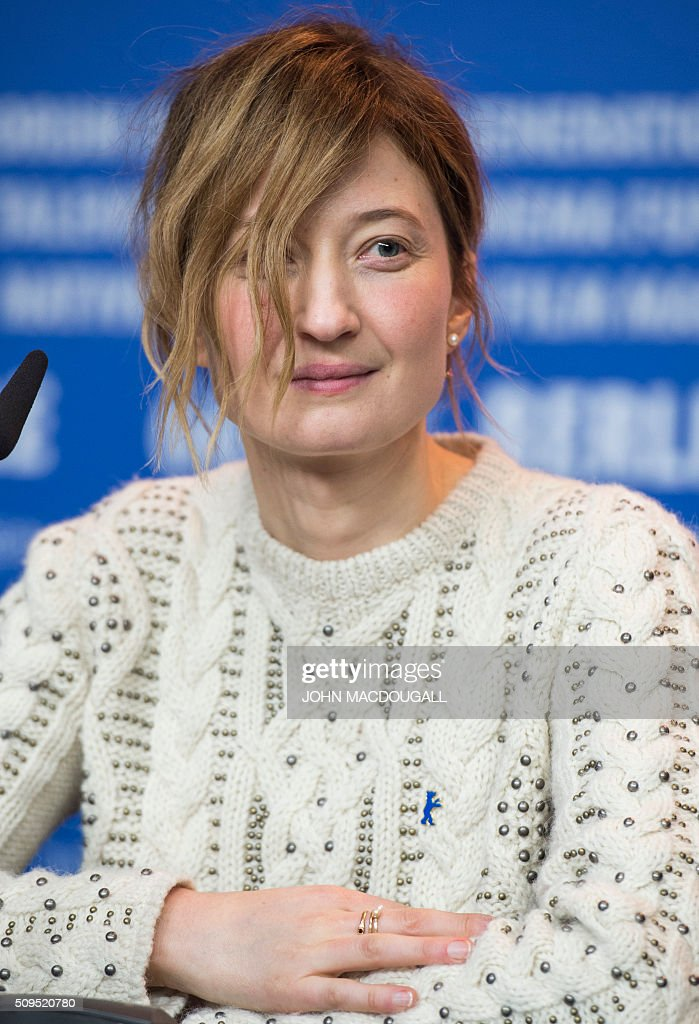 Member of the Berlinale Film Festival jury Italian actress Alba Rohrwacher attends a press conference in Berlin on February 11, 2016. The 66th Berlin film festival starts on February 11, 2016 with a spotlight on Europe's refugee crisis. / AFP / John MACDOUGALL