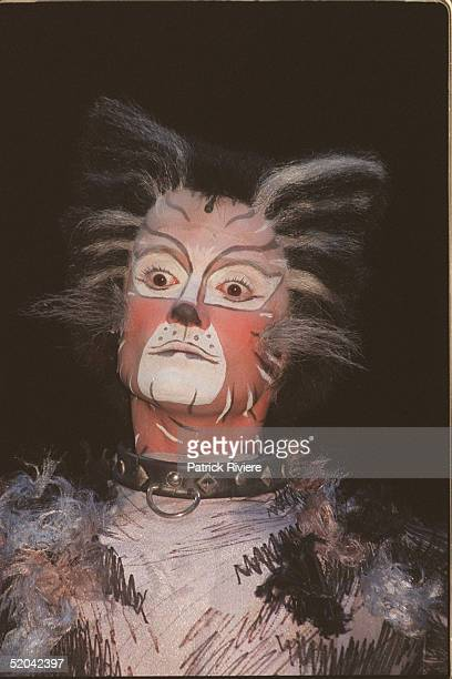 12 DECEMBER 1999 A member of the Cats cast at the Cats Run Away to the Circus gala evening in the majestic Cats Big Top in the shadows of Uluru...