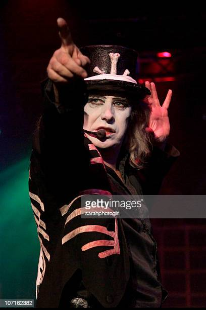 A member of the Circus of Horrors performs at Indigo at O2 Arena on November 26 2010 in London England