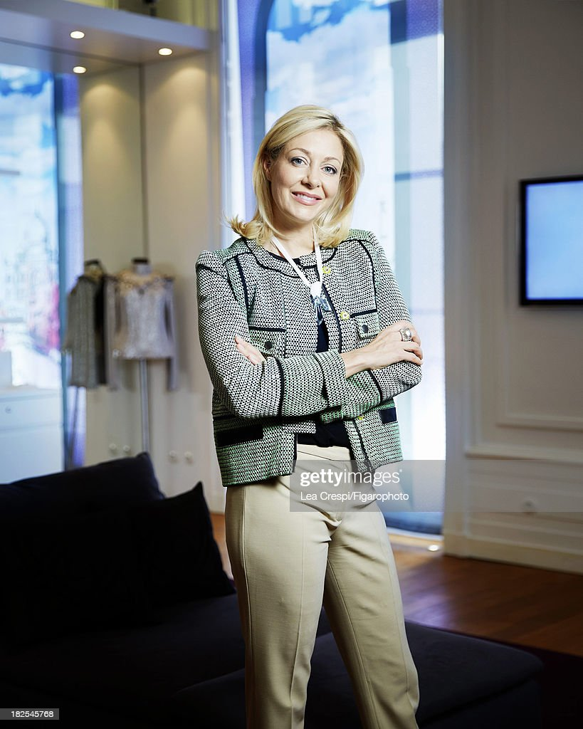 107411-003. Member of the Executive Board of Swarovski, <a gi-track='captionPersonalityLinkClicked' href=/galleries/search?phrase=Nadja+Swarovski&family=editorial&specificpeople=653118 ng-click='$event.stopPropagation()'>Nadja Swarovski</a> is photographed for Madame Figaro on July 4, 2013 in Paris, France.