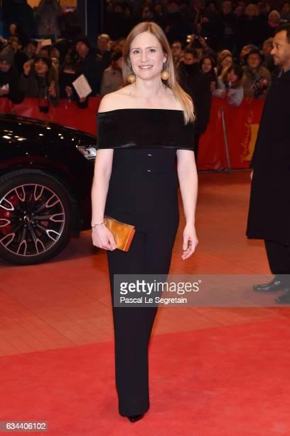 Member of the International Jury German actress Julia Jentsch attends the 'Django' premiere during the 67th Berlinale International Film Festival...