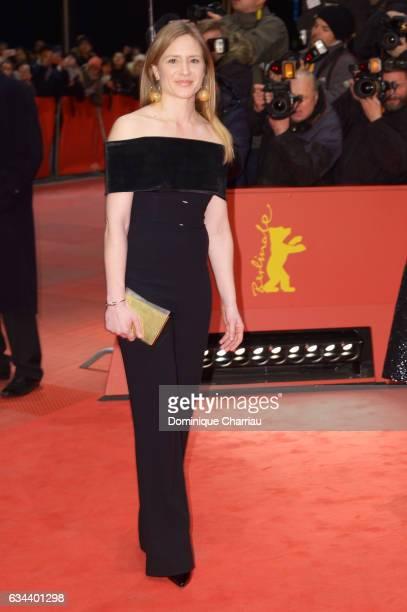 Member of the International Jury Julia Jentsch attends the 'Django' premiere during the 67th Berlinale International Film Festival Berlin at...