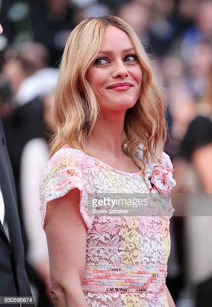 Member of the Jury Vanessa Paradis attends the 'Cafe Society' premiere and the Opening Night Gala during the 69th annual Cannes Film Festival at the...
