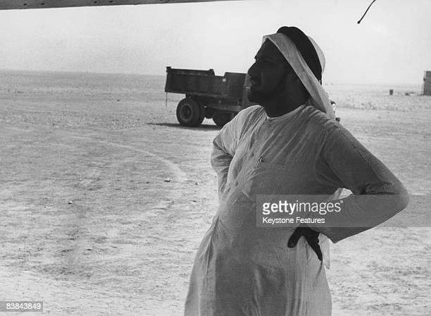 A member of the Qatari royal family September 1953