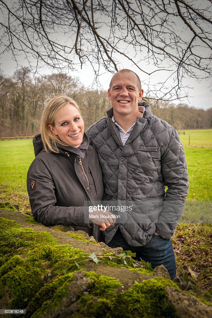 Member of the Royal family and equestrian rider Zara Phillips is photographed with her husband Mike Tindall for on December 17, 2015 in Gloucestershire, England.