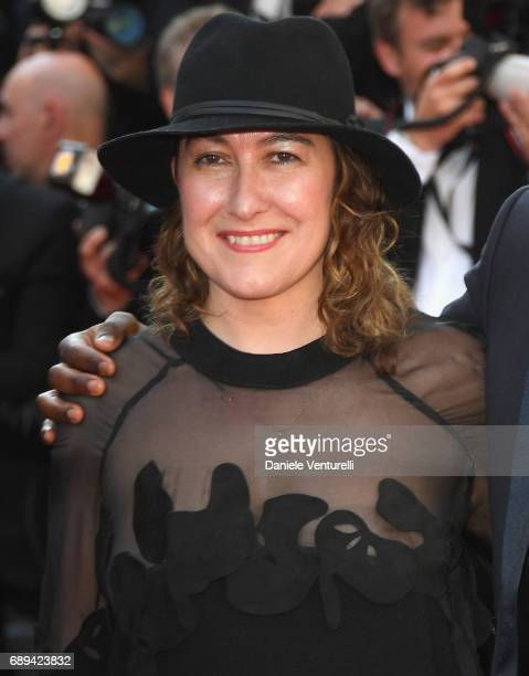 Member of the Short Films and Cinefondation jury Athina Rachel Tsangari attends the Closing Ceremony during the 70th annual Cannes Film Festival at...