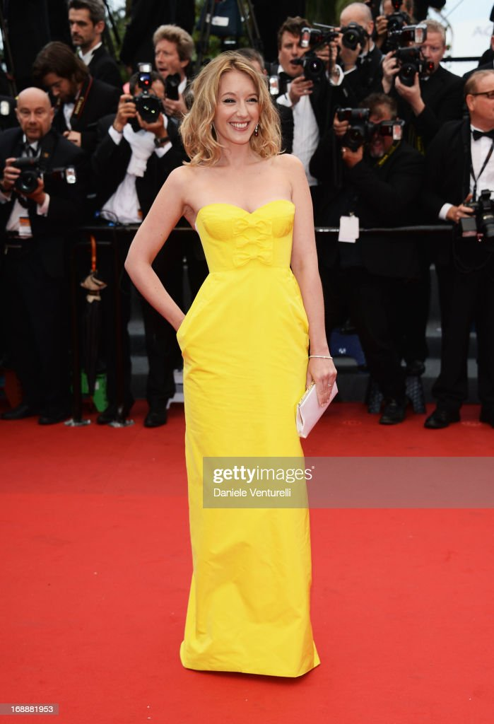 Member of the 'Un Certain Regard' Jury Ludivine Sagnier attends the Premiere of 'The Bling Ring' at The 66th Annual Cannes Film Festival at Palais des Festivals on May 16, 2013 in Cannes, France.