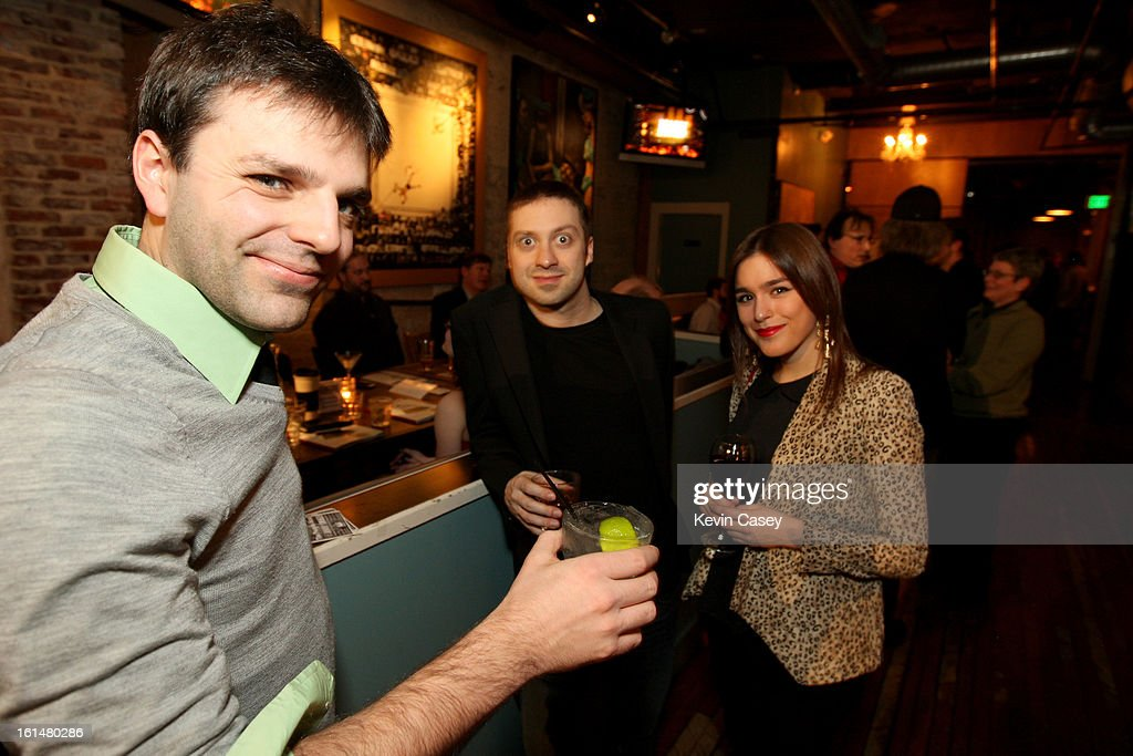 Members and guests of The Recording Academy enjoy the Grammy telecast party at Spitfire on February 10, 2013 in Seattle, Washington.