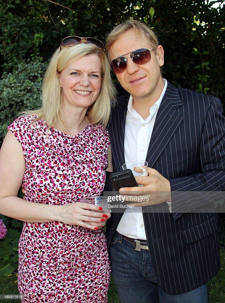 LA members Denise Nicholson John Steinfield Ê attend the BAFTA LA Garden Party at the British Consul General's Residence on June 8, 2014 in Los Angeles, California.Ê