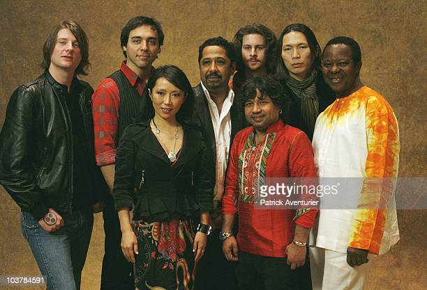 ACCESS *** Members of a new musical supergroup 'Pangea' comprised of William Ryan George of USA Evan Joyce of USA Cheng Li from China Cheb Khaled of...