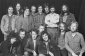 Members of British pub rock groups Brinsley Schwarz Chilli Willi The Red Hot Peppers and Ace 1974 All three bands are managed by Jake Riviera who...