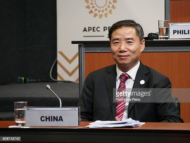 Members of China delegation attending to Small and Micro Enterprises meeting of APEC 2016