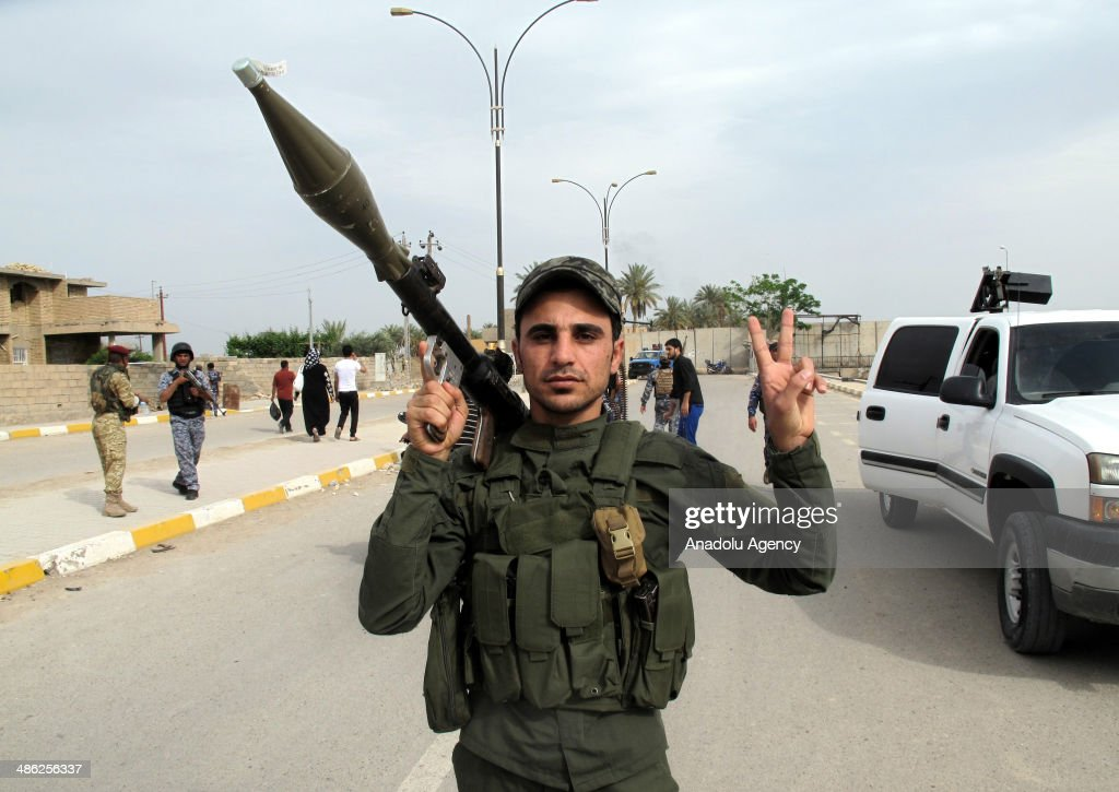 Members of Islamic State of Iraq and Damascus state that they control again the AlHavz district of Ramadi in Al Anbar Province of Iraq on April 20...
