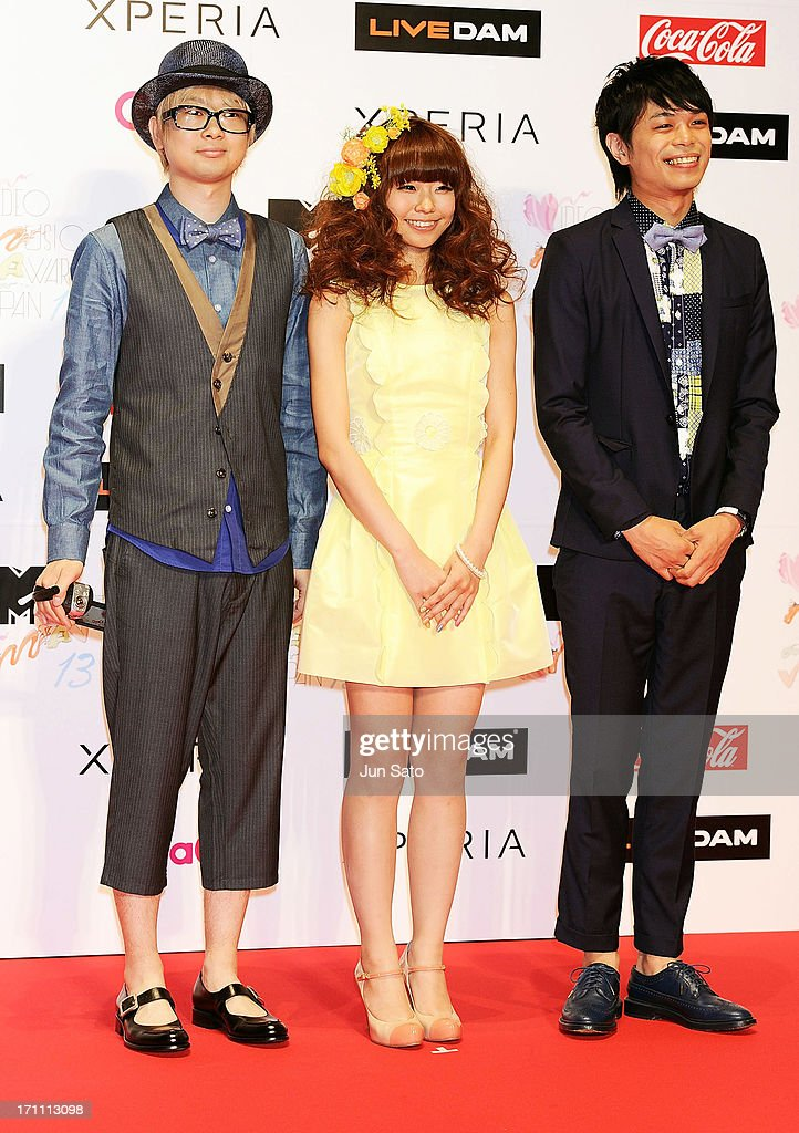 Members of Kerakera attends the MTV Video Music Awards Japan 2013 at Makuhari Messe on June 22, 2013 in Chiba, Japan.