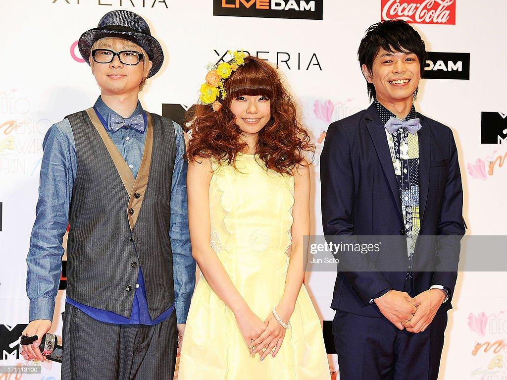 Members of Kerakera attends the MTV Video Music Awards Japan 2013 at Makuhari Messe on June 22, 2013 in Chiba, Japan.