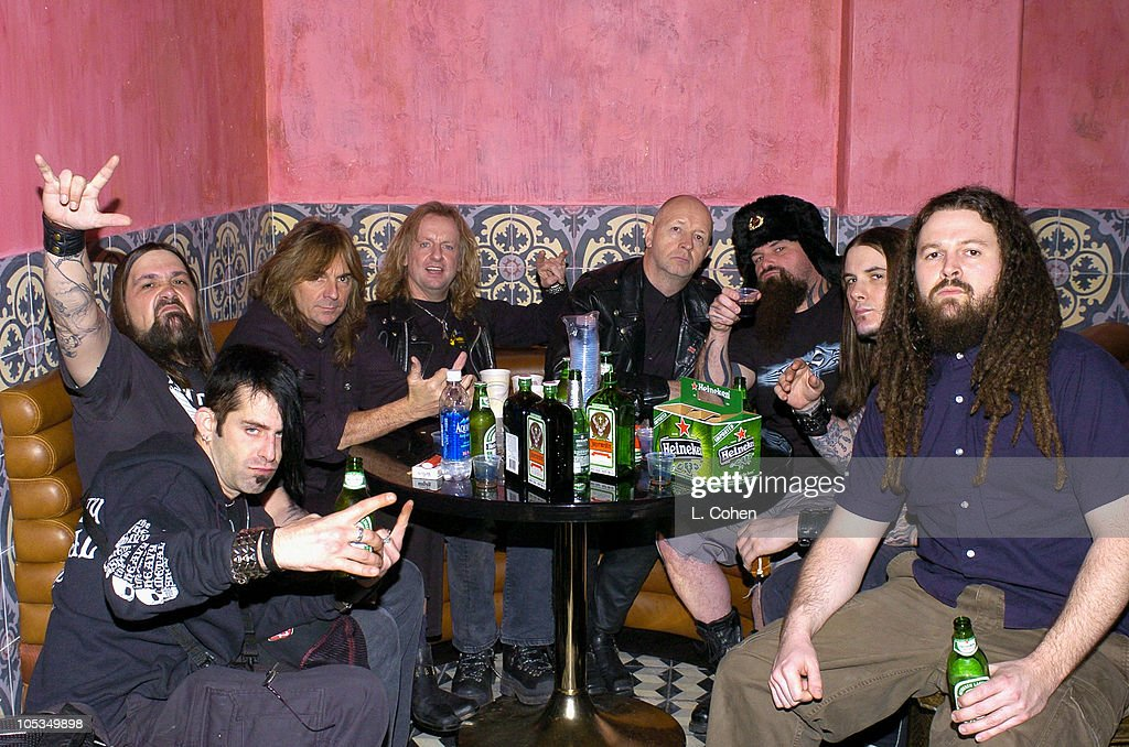 Members of Lamb of God, <a gi-track='captionPersonalityLinkClicked' href=/galleries/search?phrase=Judas+Priest&family=editorial&specificpeople=614265 ng-click='$event.stopPropagation()'>Judas Priest</a>, <a gi-track='captionPersonalityLinkClicked' href=/galleries/search?phrase=Slipknot&family=editorial&specificpeople=149487 ng-click='$event.stopPropagation()'>Slipknot</a>, <a gi-track='captionPersonalityLinkClicked' href=/galleries/search?phrase=Slayer+-+Band&family=editorial&specificpeople=689789 ng-click='$event.stopPropagation()'>Slayer</a> and Dimmu Borgir