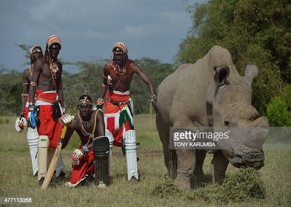 Members of Maasai Cricket Warriors a cricket team famed for using the sport to raise awareness for HIV/AIDS women's issues and now the devastating...