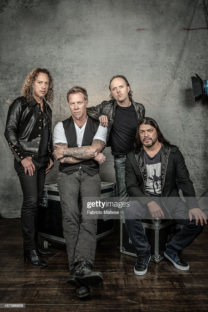 Metallica, The Hollywood Reporter, September 2013 | Getty ...